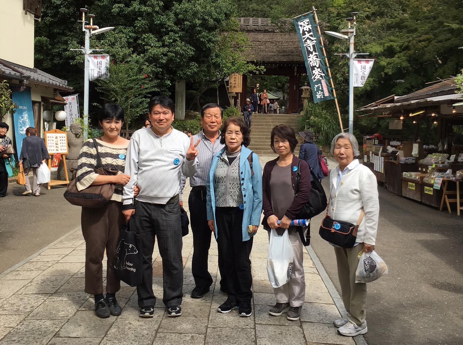 東京 高尾山・深大寺を巡る東京多摩コース催行!