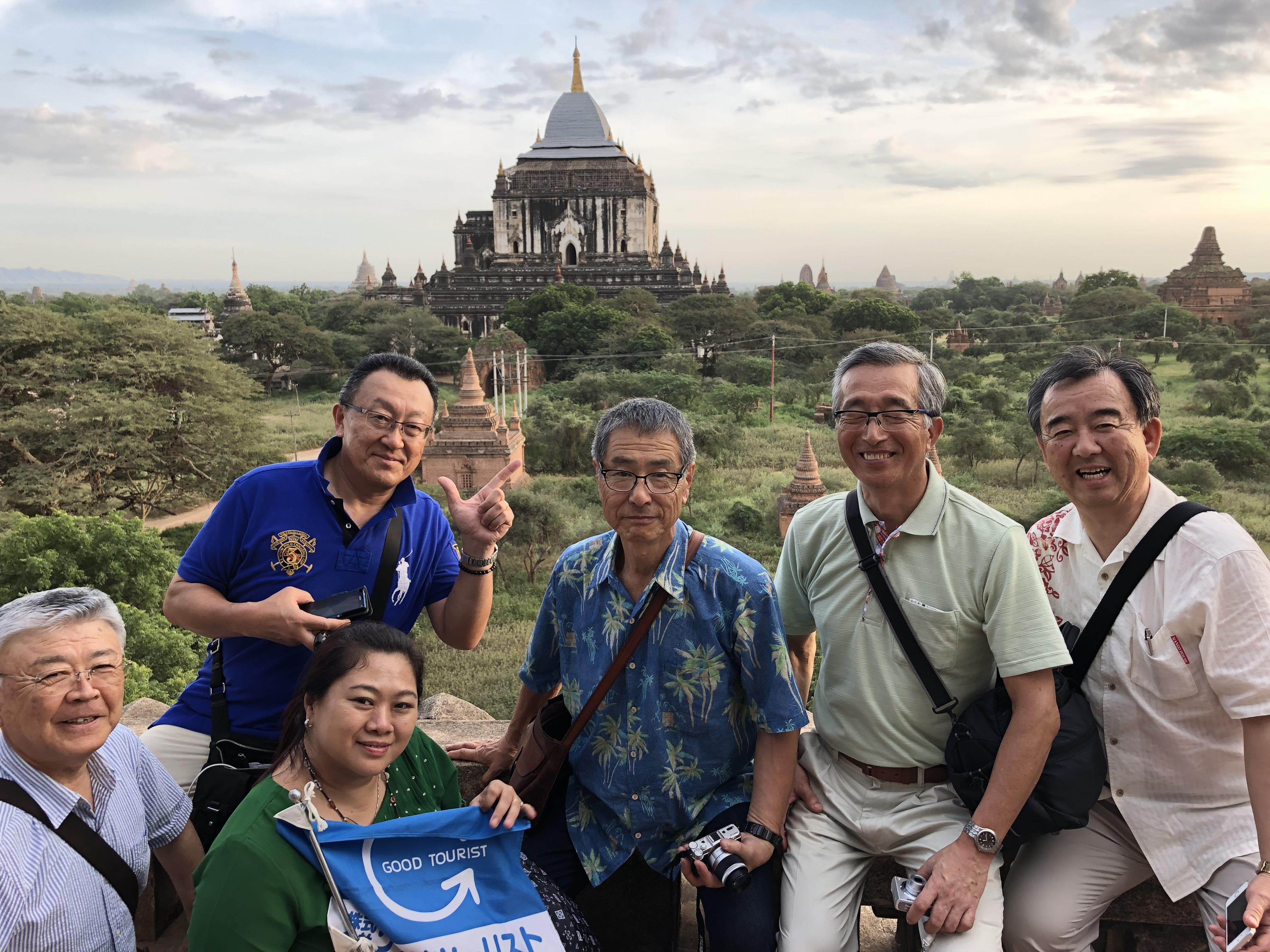 【海外】ミャンマー 商業都市ヤンゴンと古都バガンへの3泊5日間の旅 催行!