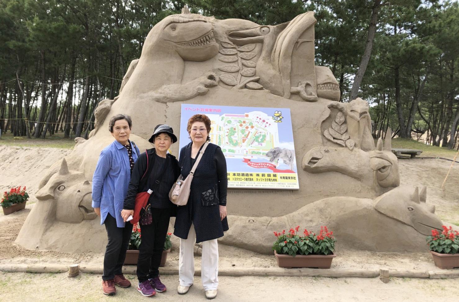 鹿児島 大河ドラマで話題の「かごんま」 砂の祭典ツアー